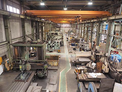 関東最大級の機械加工工場