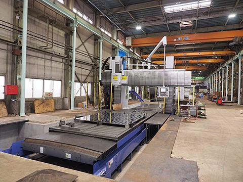 マシニングセンタ 三菱重工業 五面加工機