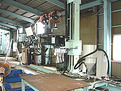 サブマージ外面自動溶接機(板巻鋼管) リンカーン社